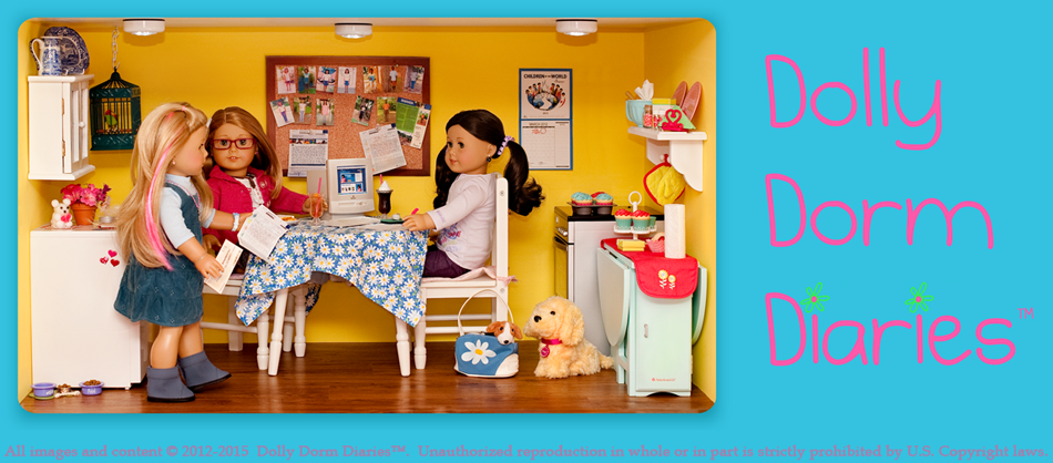 See American Girl Doll YouTube Videos, read American Girl Doll Diaries at the Dolly Dorm Doll House. See American Girl Doll Pictures.